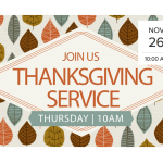 Thankgiving Service